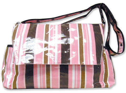 Trend Lab MAYA Laminated MESSENGER Baby Diaper Bag-Trend Lab, Baby, Diaper, Tote, Bag, MAYA, Laminated, Messenger, diaper bag