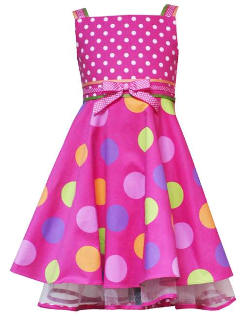Rare Editions for Girls Pink Polka Dot Party Dress-rare editions for girls trendy boutique pink green polka dot party dress bonnie jean baby silk shantung special occasion flower girl wedding birthday holiday easter taffeta satin crinoline full ruffled premium quality lime hot bubblegum light bright sage mint blue brown purple yellow black white brand new set outfit
