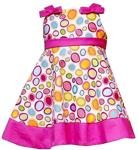 Rare Editions for Girls BRIGHT PINK MULTI-DOT Party Dress-rare editions for girls trendy boutique pink green polka dot party dress bonnie jean baby silk shantung special occasion flower girl wedding birthday holiday easter taffeta satin crinoline full ruffled premium quality lime hot bubblegum light bright sage mint blue brown purple yellow black white brand new set outfit cotton