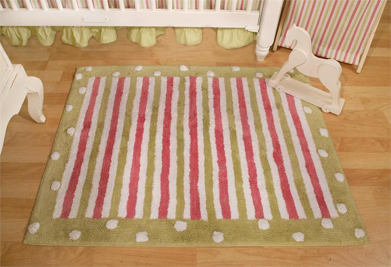 My Baby Sam MEDALLION in Pink Nursery Rug-my baby sam musical mobile sweet pea purple green trend lab baby bridal gift boutique custom baby boy girl infant nursery decor crib bedding set blanket new arrivals discount laundry hamper storage window valance diaper stacker rug lamp lampshade shade polka dot pink brown blue white stripes argyle paisley damask medallion barefoot dreamin' go car go mad about plaid in splash garden party trendy celebrity unique
