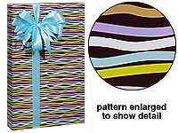 Deluxe Gloss Gift Wrap Wrapping Paper - BIRTHDAY-gift, wrap, gift wrap, wrapping, paper, commercial, wholesale, bulk, wedding, chocolate, brown, bubblegum, pink,